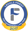 Legals Finest 2017 Recommended Law Firm